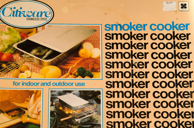 I still keep the smoker in the original box.