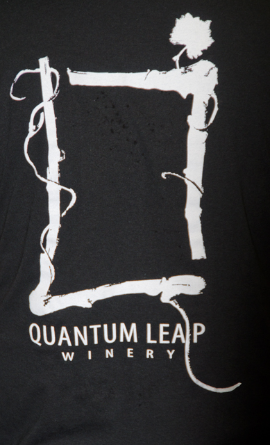 The logo for Quantum Leap winery.
